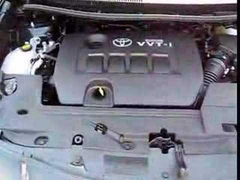Toyota Auris engine under the hood  YouTube