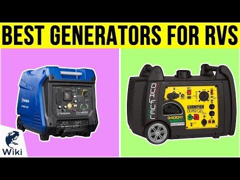 10 Best Generators For RVs 2019