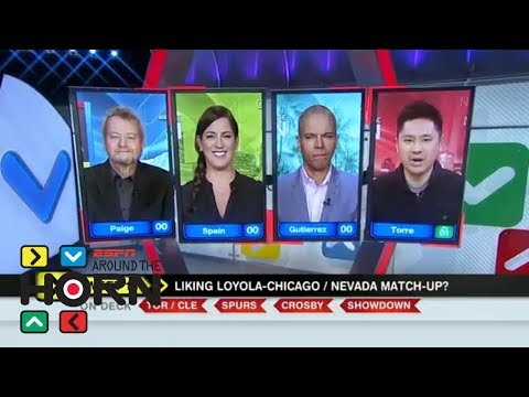 Pablo Torre all in on Loyola-Chicago beating Nevada | Around the Horn | ESPN