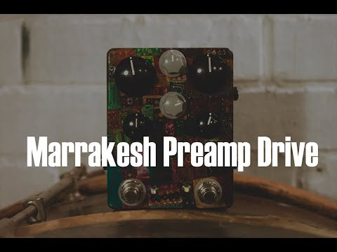 Lateral Phonics | Marrakesh Preamp Drive