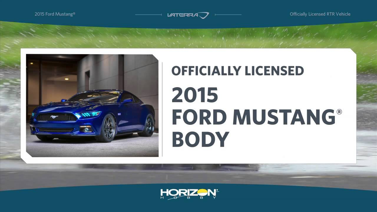 2015 Ford Mustang V100 S 1 10th Rtr By Vaterra Youtube