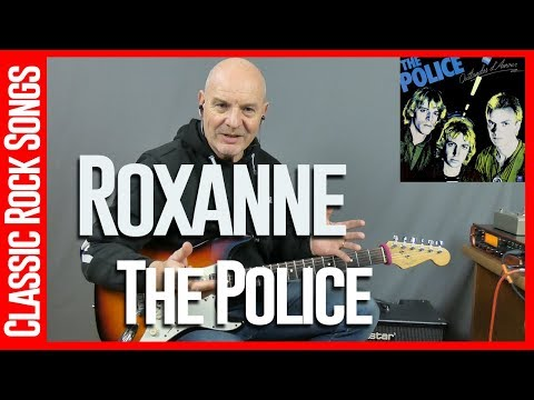 Roxanne By The Police - Guitar Lesson Tutorial