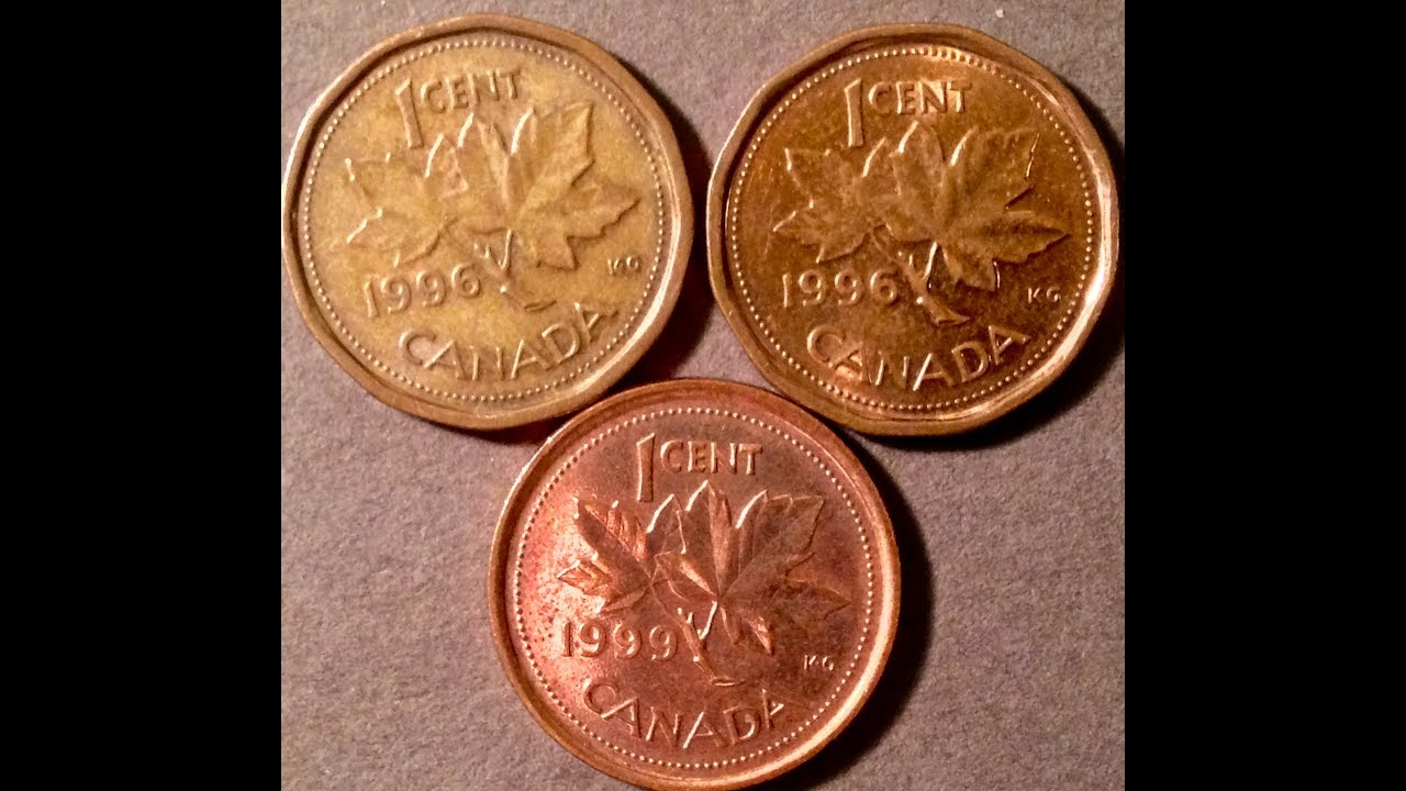 1990-1999 Canadian One Cent (Penny) Coins To Look For