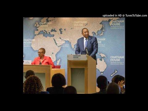 Uhuru tells world why he decided to work with Raila
