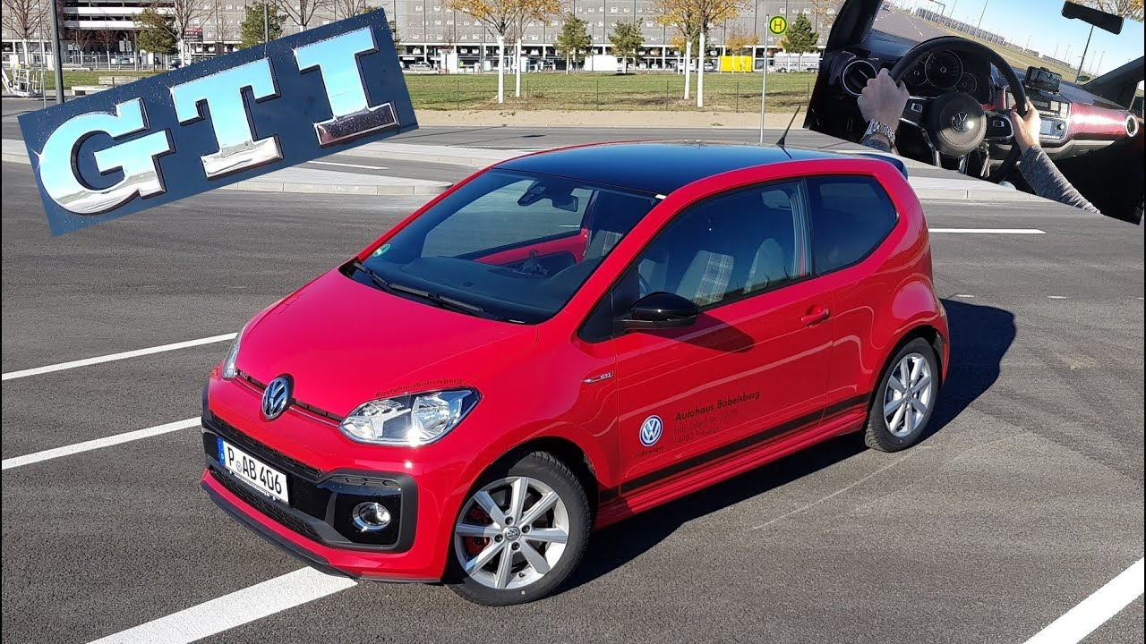 der neue vw up gti im test ein echter gti review. Black Bedroom Furniture Sets. Home Design Ideas