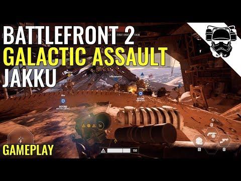 Star Wars Battlefront 2 - JAKKU - GALACTIC ASSAULT GAMEPLAY