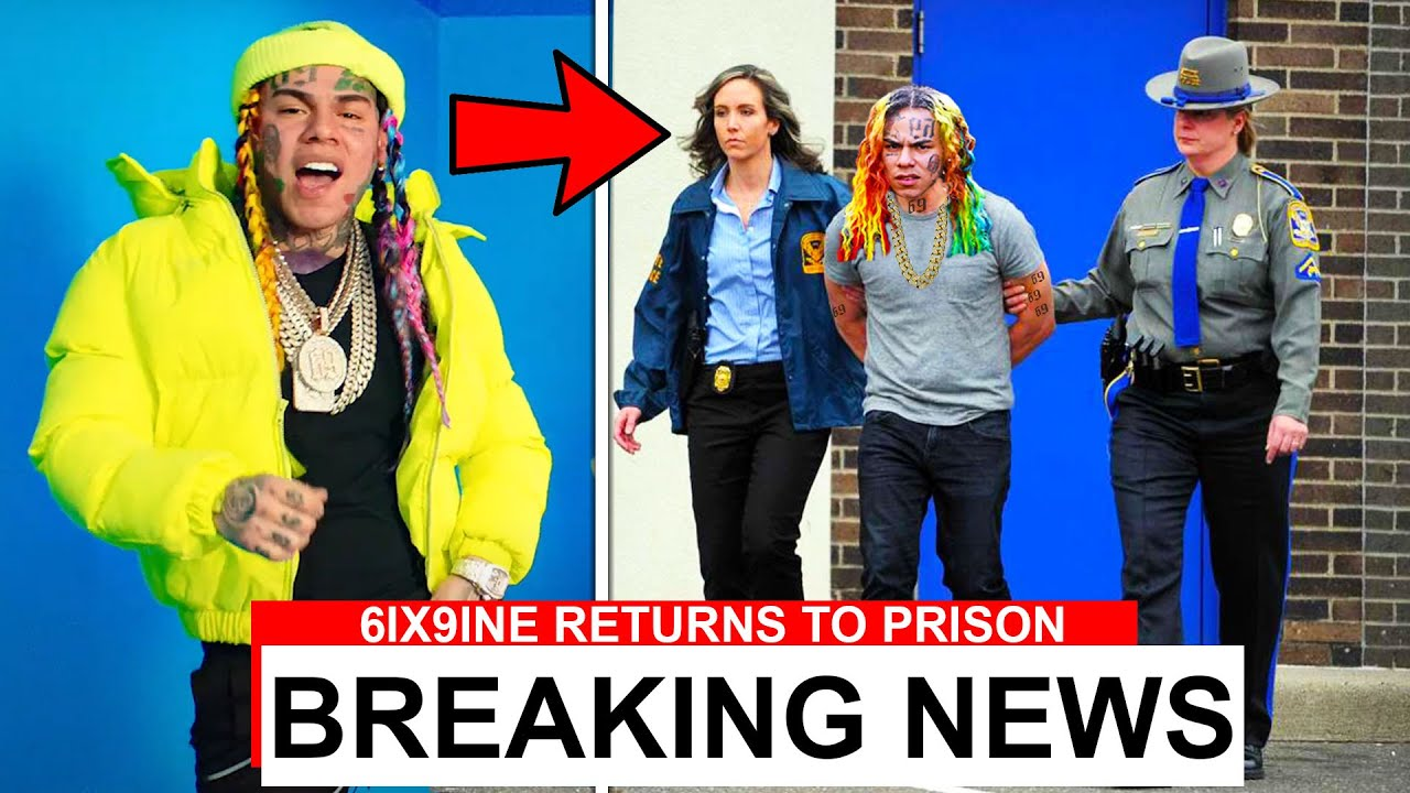 "6IX9INE Returns To Prison After ""YAYA"" Music Video..."