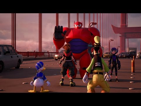 KINGDOM HEARTS III – Big Hero 6 Trailer (Closed Captions)