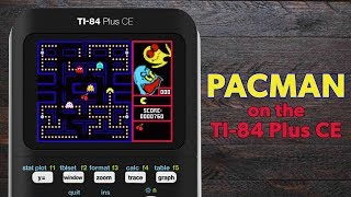 How to Play Pacman on the TI-84 Plus CE