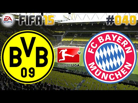 FIFA 15 #040 Borussia Dortmund vs. FC Bayern ★ Bundesliga ★ Lets Play FIFA 15 Multiplayer [Deutsch]