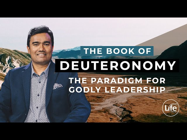 Deuteronomy 8 - The Paradigm for Godly Leadership | Rev Paul Jeyachandran