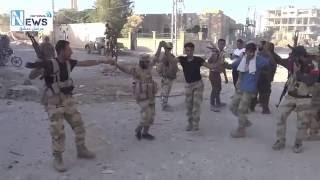 المشاهد الاولية للجيش العربي السوري داخل بلدة الدير_خبية بعد فرض سيطرته عليها