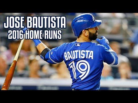 Jose Bautista | 2016 Home Runs