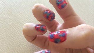 Wie zu erstellen, nail-art mit einem Q-Tipp