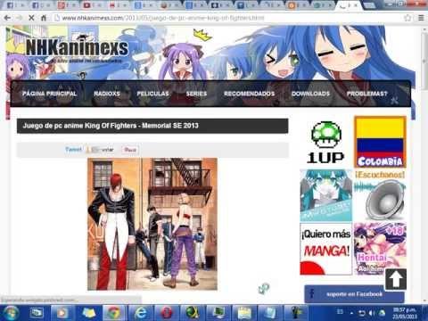 Juego De Pc Anime King Of Fighters - Memorial SE 2013