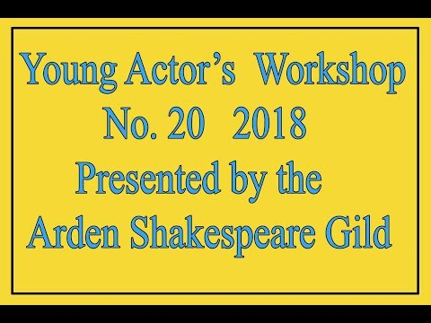 20th Young Actor's Workshop Showcase 2018
