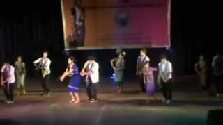 reang bsm freshers dance 2013 funny