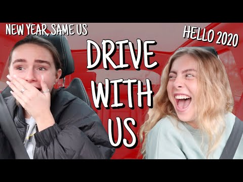 DRIVE WITH US - LETS CHAT! | Syd And Ell