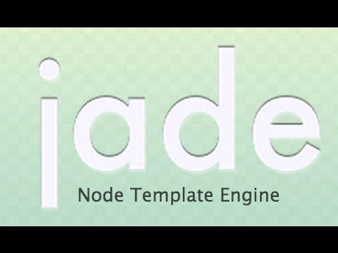 Basics of Jade - Template Engine Nodejs - YouTube