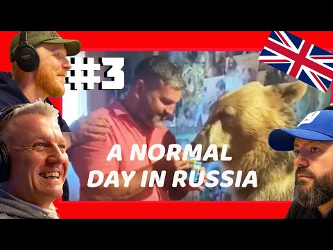 A Normal Day In Russia #3 REACTION!!   OFFICE BLOKES REACT!!
