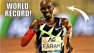 MO FARAH'S INCREDIBLE WORLD RECORD RUN! || The Men's 1 Hour Race - Diamond League Brussels 2020