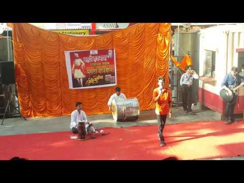 JAI MAHARASTRA Song Live : DATTA MEGHE-DMCE[IT Branch] GARJA MAHARASHTRA[2015] by SHUBHAM MADKE