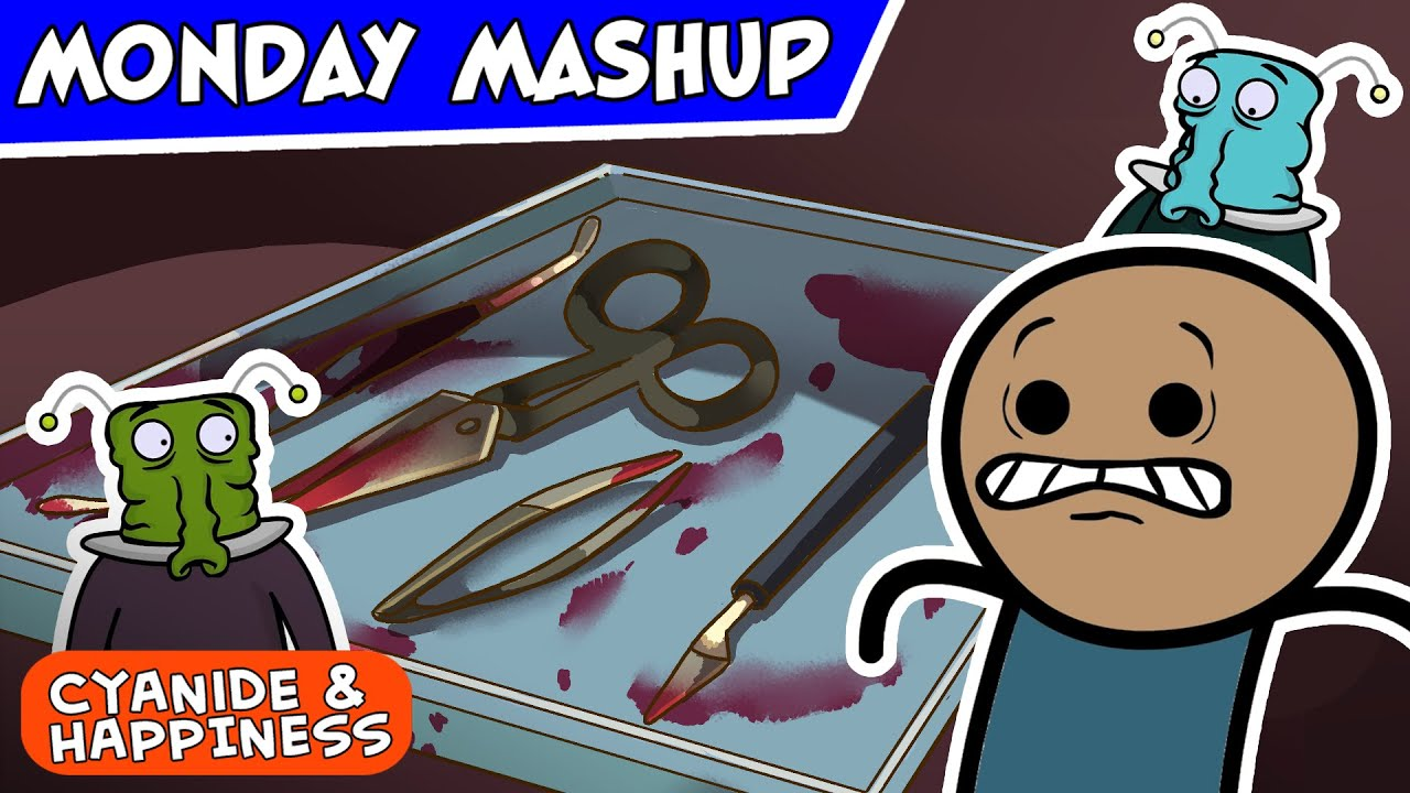 Spooky Tales of Spookiness   Cyanide & Happiness Monday Mashup