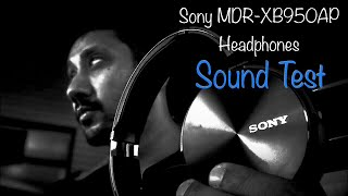 sony MDR-XB950AP Headphones (Sound test)