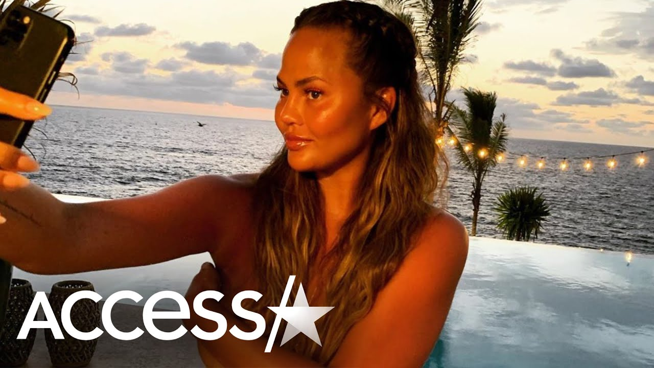 Chrissy Teigen Drops Topless Pic Due To Body-Shaming Trolls