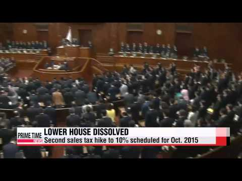 Japanese PM dissolves lower house of parliament, calls snap elections   일본 중의원 해