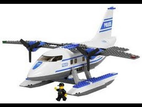 lego city police airplane 7723