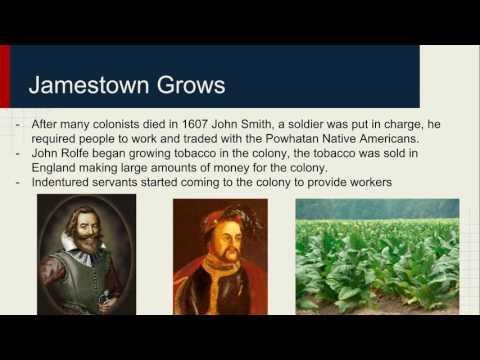 Early American Colonies American Colonies part 1
