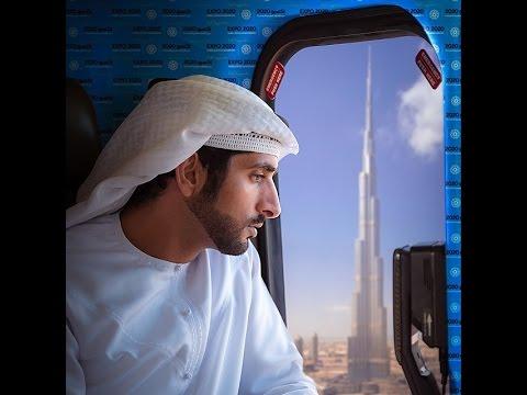 Prince Fazza (Sheikh Hamdan bin Mohammed bin Rashid al Maktoum) Loves Flying!