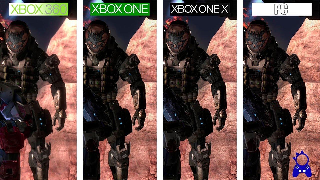 Halo Reach Pc One X One 360 4k Graphics Comparison