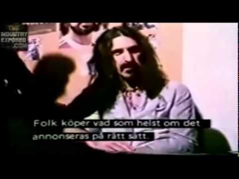 Frank Zappa Exposing the Fascist Corporate Mind Control Establishment P2