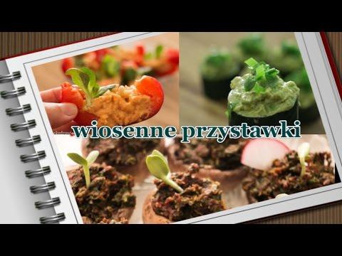 Zdrowe, Wiosenne Przystawki Wegańskie - Na Lunch Do Pracy Lub Na Imprezę:-)
