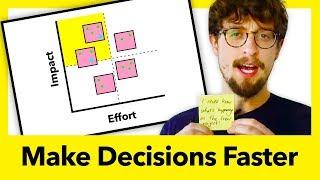 Product Design Process: SOLVE PROBLEMS AND MAKE DECISIONS FAST (Lightning Decision Jam) | Aj&Smart