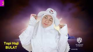 Sepatu Haji Umroh Wanita Tosca Tali Putih Polos Perlengkapan Haji dan Umroh