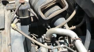 2003 International 7500 HT530  Dump Truck -Engine Running