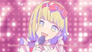 """Lyric translation video featuring """"Watashi, Idol Sengen"""" by CHiCO w..."""