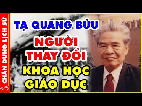 Tiểu Sử Tạ Quang Bửu - HUYỀN THOẠI Đưa Việt Nam Tới Công Nghệ Thế Giới
