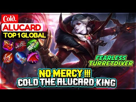 No Mercy Cold Alucard King [ Top 1 Global Alucard ] Cold. - Mobile Legends