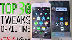 iPhone best Cydia tweaks 2018    #iPhone best Top30  #jailbreak #tweaks
