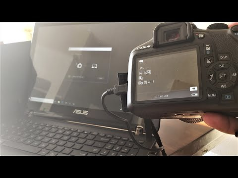 How To Connect Canon EOS Camera To Computer Using USB