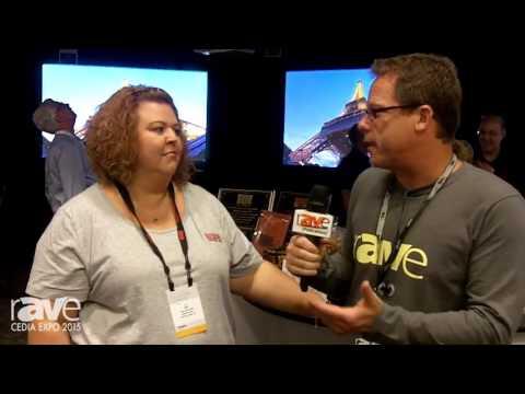 CEDIA 2015: Gary Kayye Talks with Draper's Amy Madden About CEDIA 2015 Draper's New Products