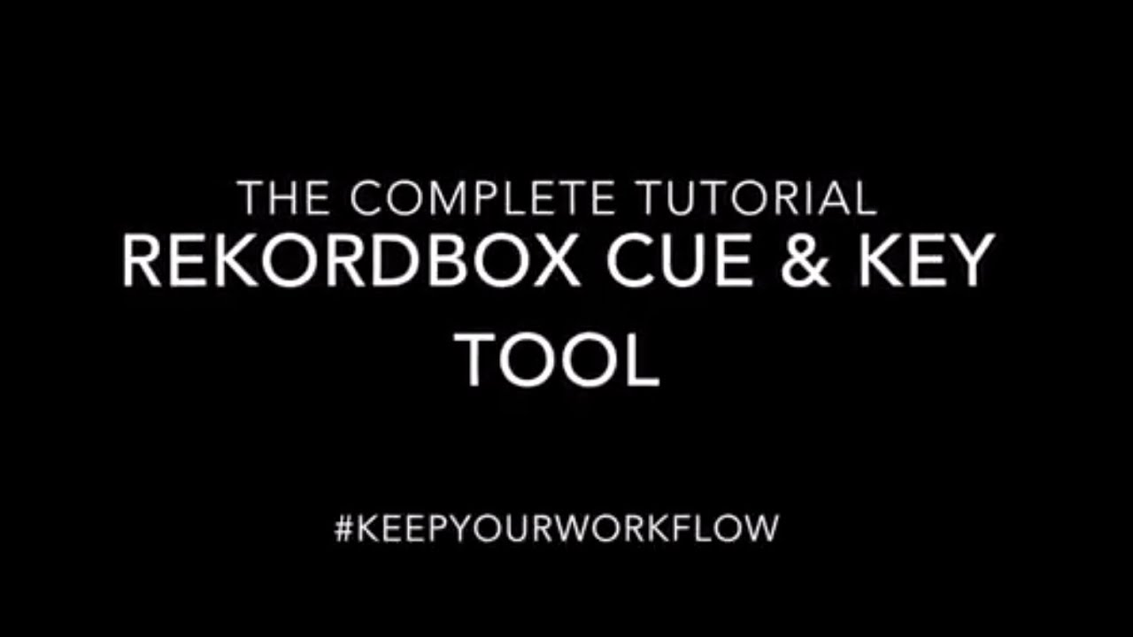 rekordbox key shift