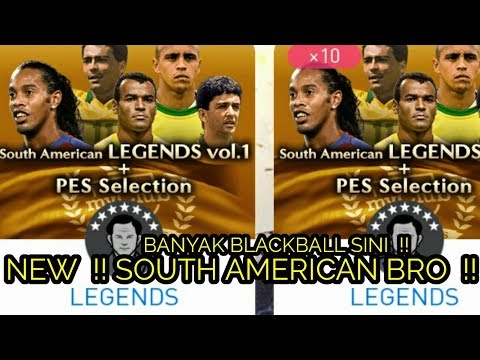 NEW || SOUTH AMERICAN LEGENDS VOL.1 + PES SELECTION !!