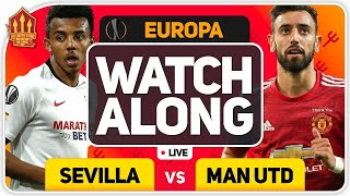 MANCHESTER UNITED vs SEVILLA With MARK GOLDBRIDGE LIVE