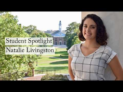 Student Spotlight: Natalie Livingston