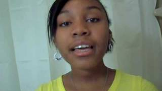 """Camia Douglas 11 year old sings JoJo """"If I wrote a Note to God"""""""